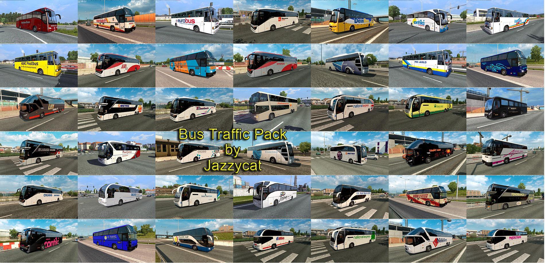 BUS TRAFFIC PACK BY JAZZYCAT v 7 6 | Allmods net