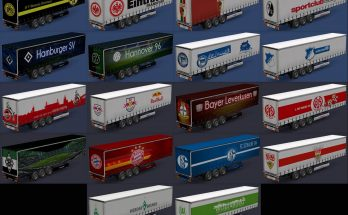 German league trailers v1.0 ets 2 mod