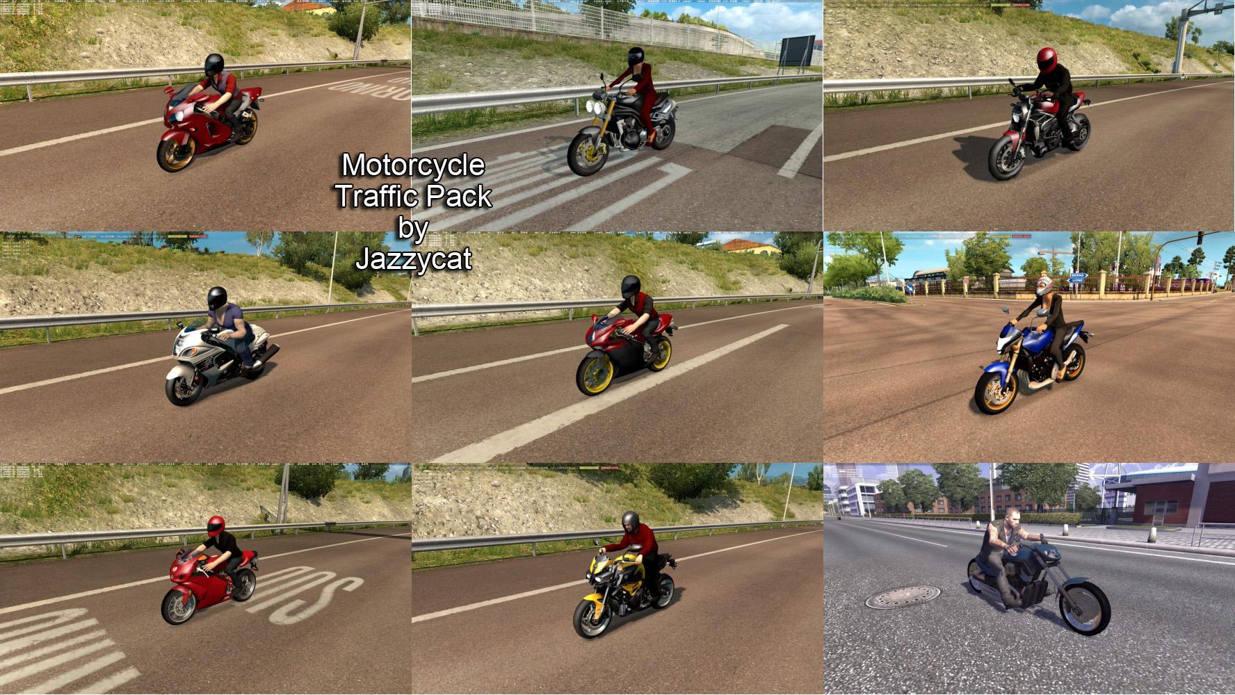 Motorcycle Traffic Pack by Jazzycat v 3 3 | Allmods net