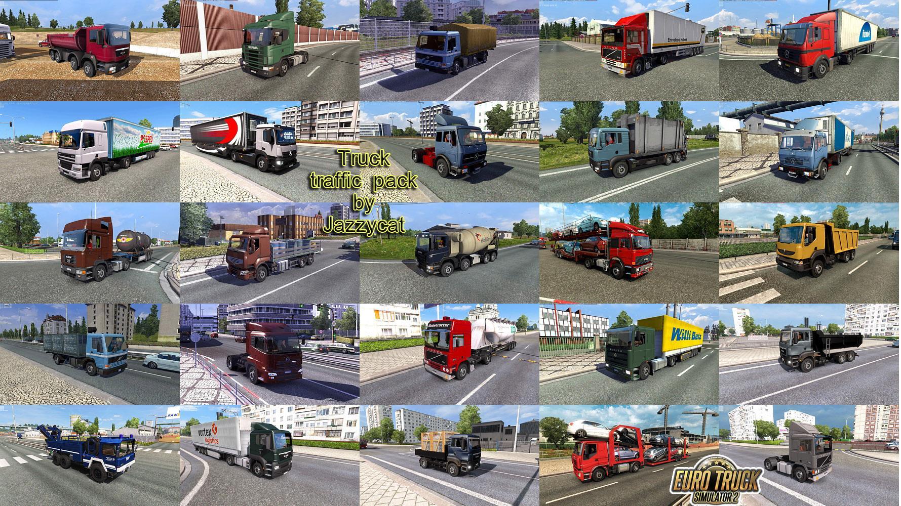 Truck Traffic Pack by Jazzycat v 3 6 | Allmods net