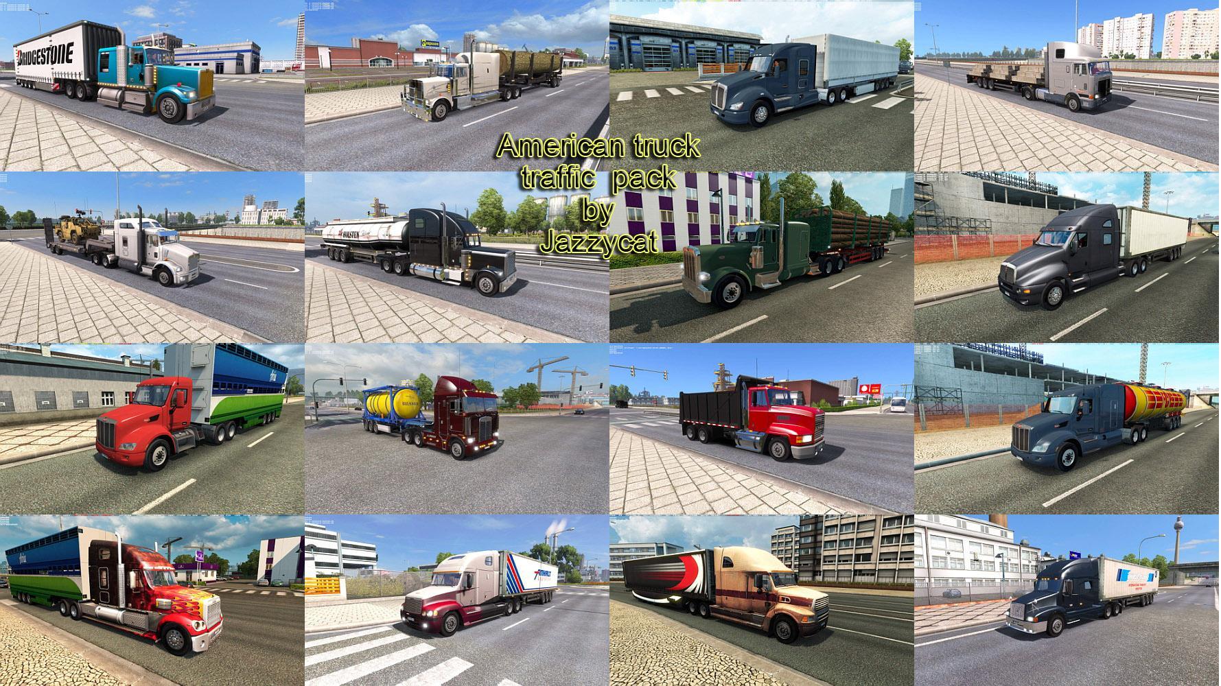 American Truck Traffic Pack by Jazzycat v 2 0 | Allmods net