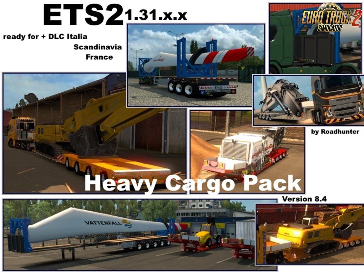 Pack Trailers Heavy Cargo v 8 4 1 31 | Allmods net
