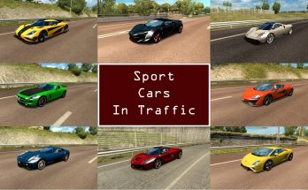 Sport Cars Traffic Pack by TrafficManiac