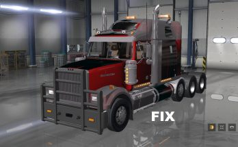 Fix for a truck Western Star 4900FA v 1.0