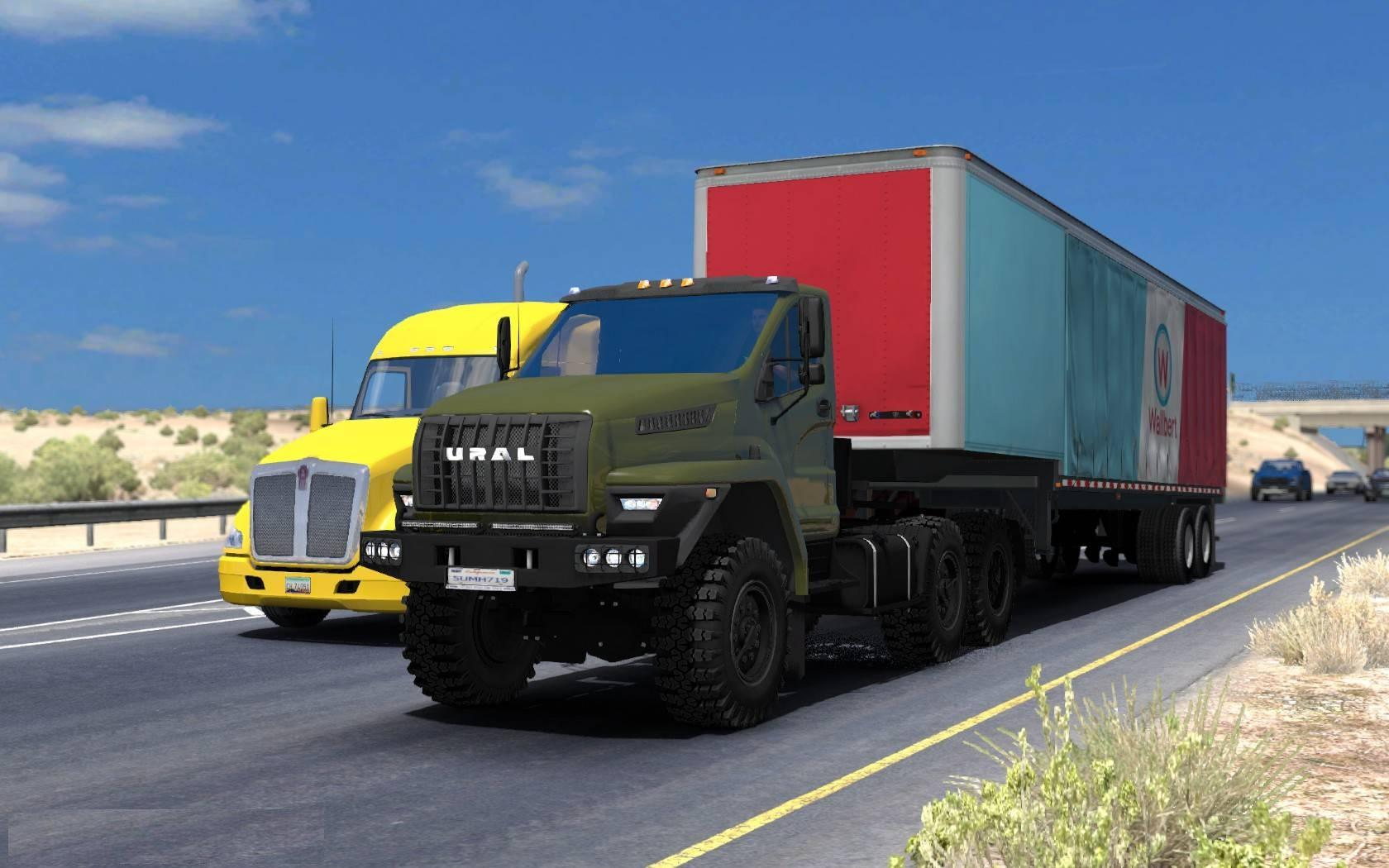Ural Next for ATS 1.31.x