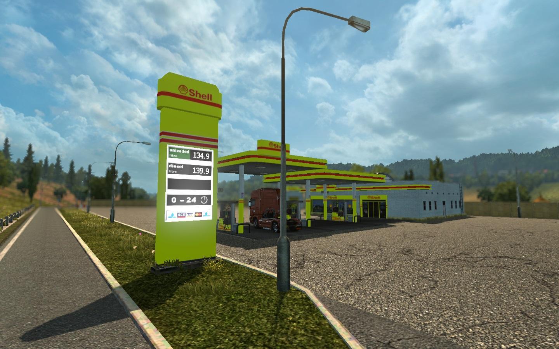 Real European Gas Stations v 1 0   Allmods net