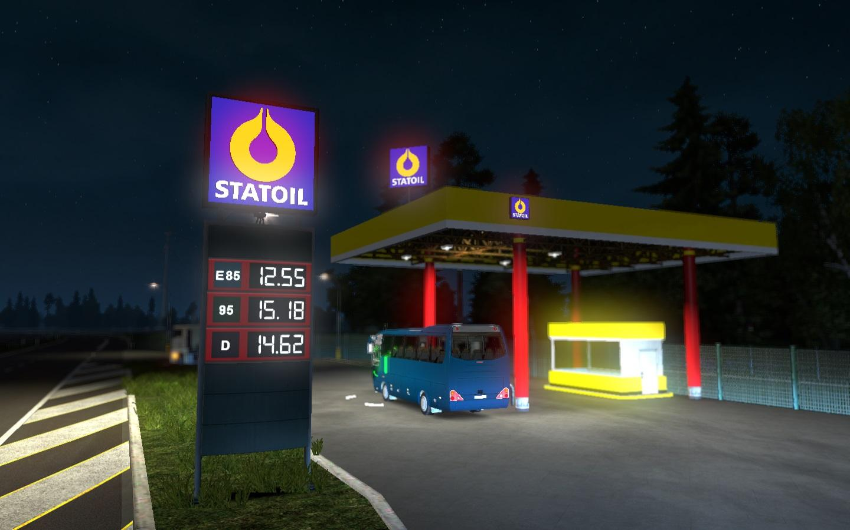 Real European Gas Stations v 1 0 | Allmods net