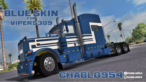 Blue Skin for Vipers 389