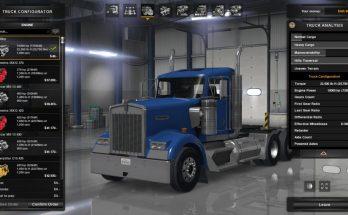Engine and Transmission for Kenworth W900 v 1.0