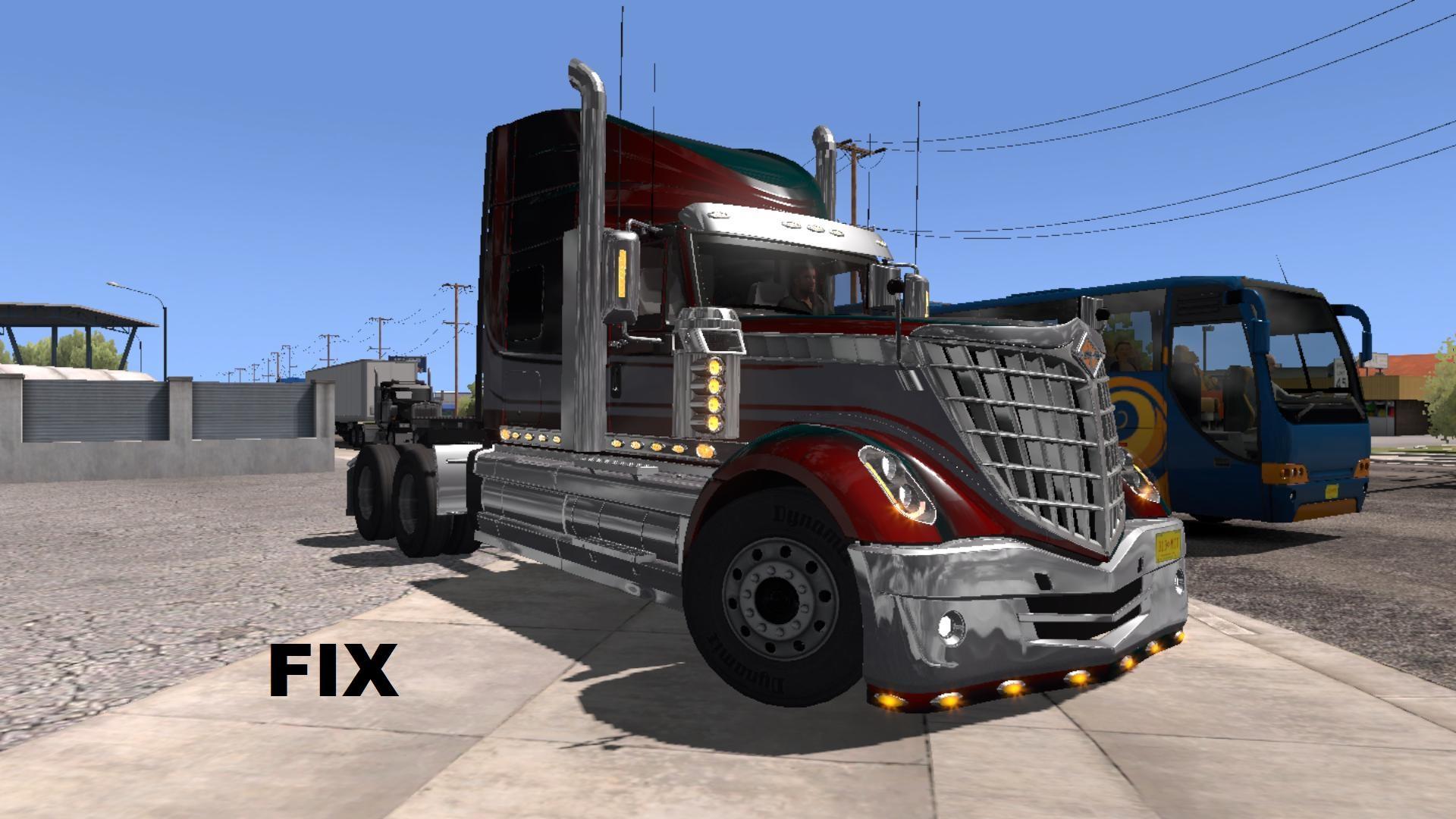 Fix for truck International Lonestar v 1.0