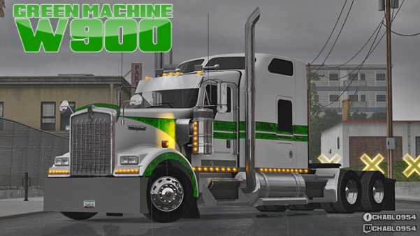Green Machine W900 Skin