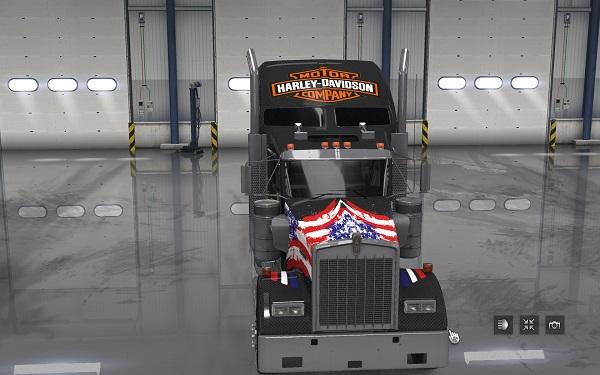 Harley Davidson 2 Skin