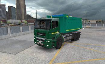Kamaz 5490 65206 6580 for ATS (Dump + BDF trailer) v1.0