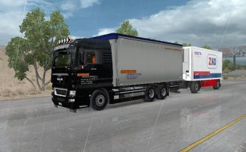3 in 1 MAN XBS with BDF trailers for ATS 1.31.x