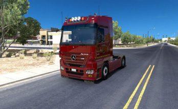 Mercedes Benz MP2 update MB Trucks Megapack for ATS 1.31.x