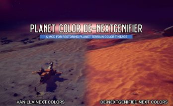 Planet Color De-nextgenifier