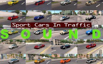 Sounds for Sport Cars Traffic Pack v 1.4