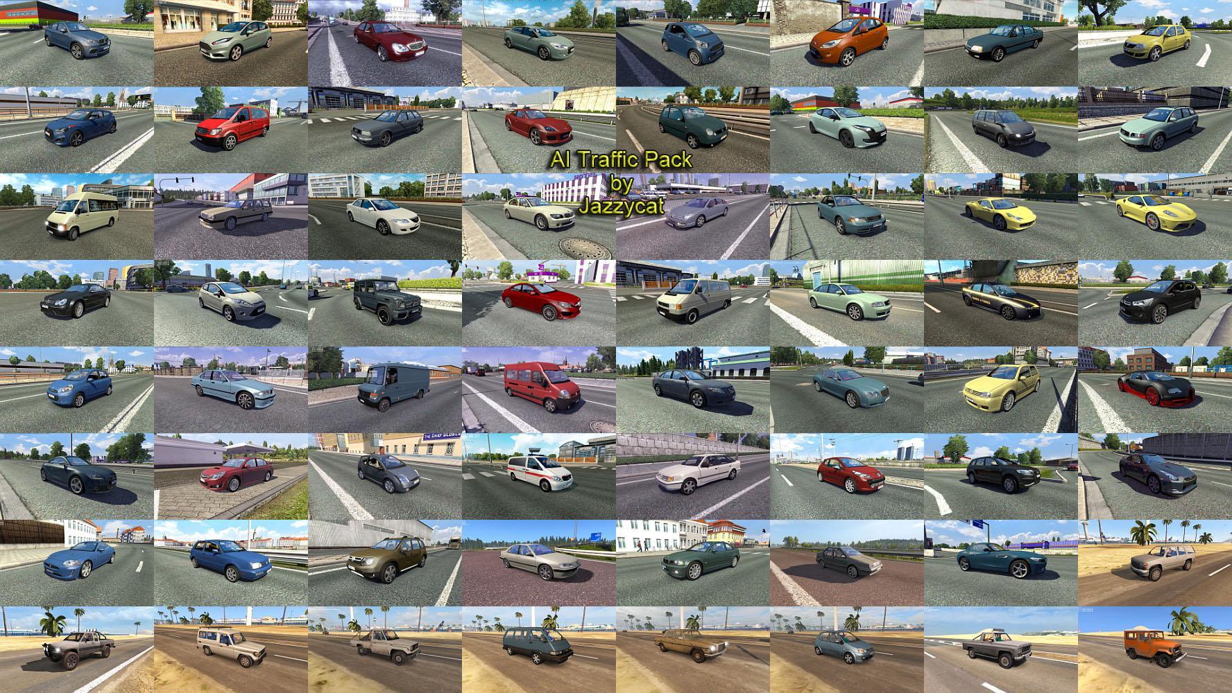 AI Traffic Pack by Jazzycat v 10 8 | Allmods net