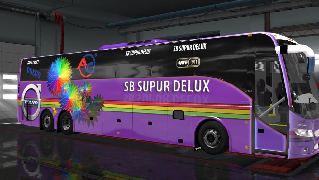 Volvo 9700 bus skin hanif bus or SB Bus skin for 1 31 x