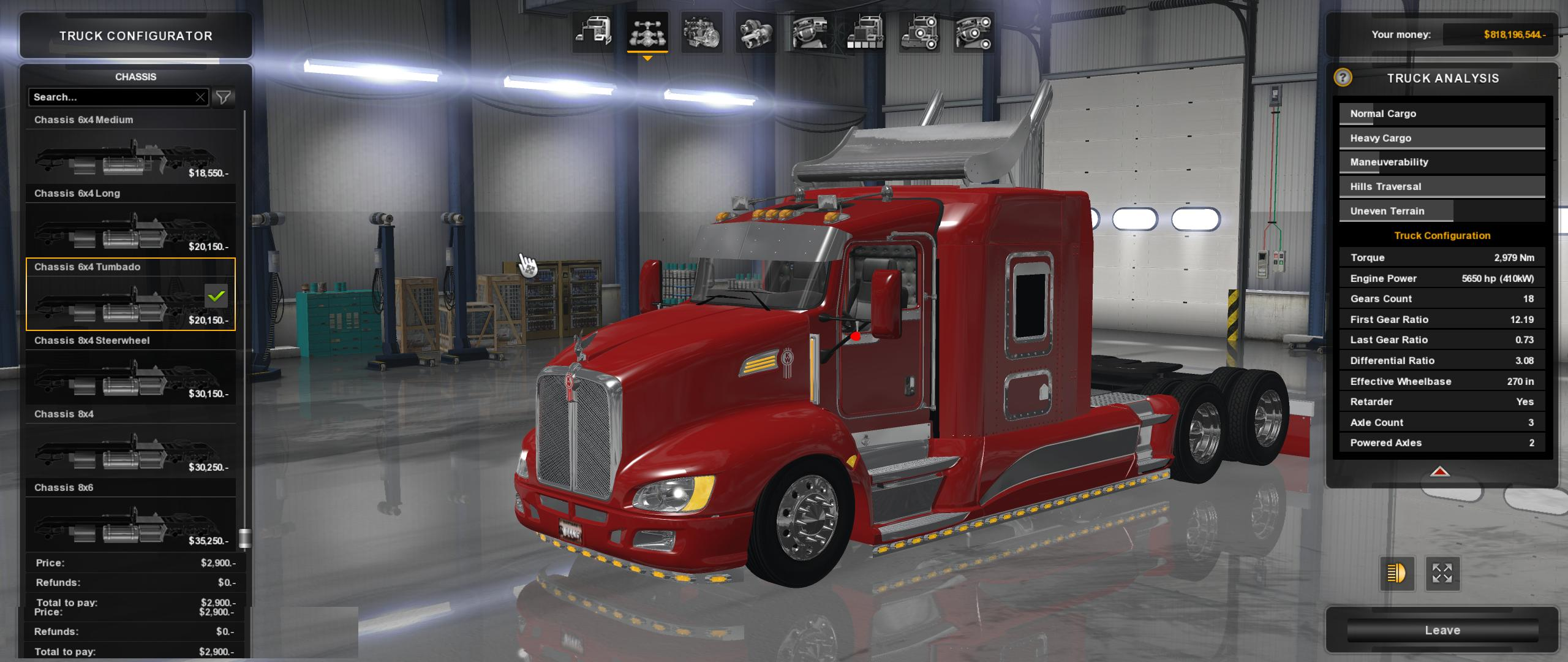 KENWORTH T660 v 1.0