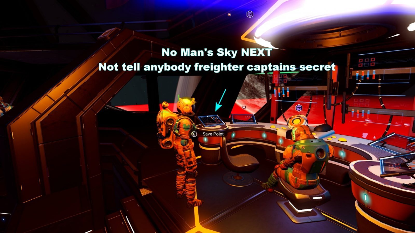 Not Tell Anybody Freighter Captains Secret