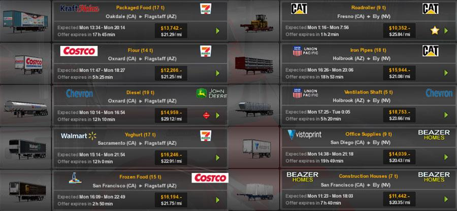 Real Companies & Trailers Pack v 1.6