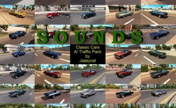 Sounds for Classic Cars AI Traffic Pack by Jazzycat v 2.2