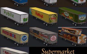 Supermarket trailers v 1.0