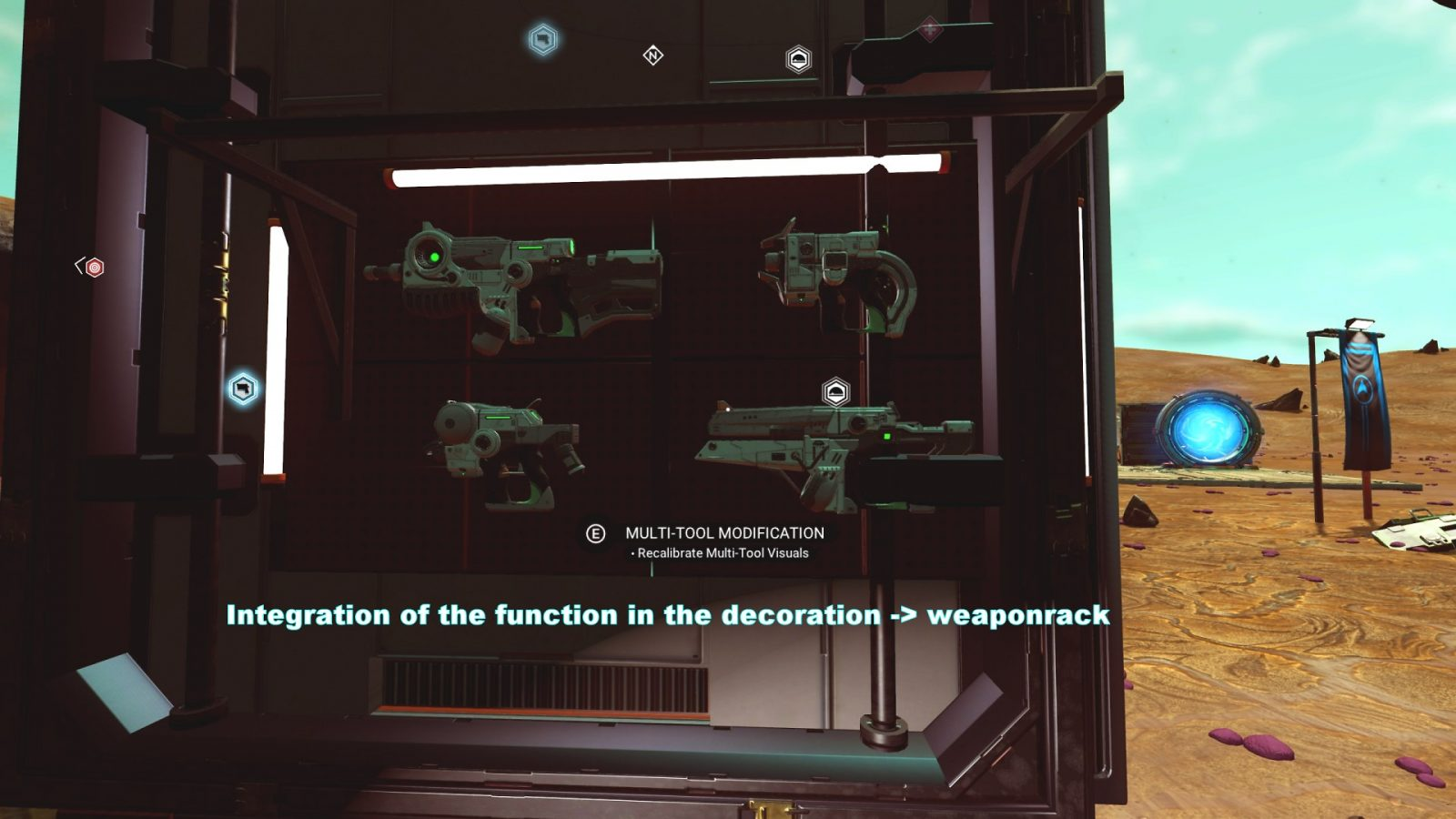 Weapon Coloring Future