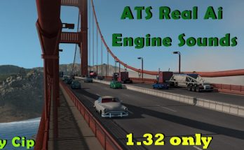 ATS Real Ai Traffic Engine Sounds by Cip v 2.12