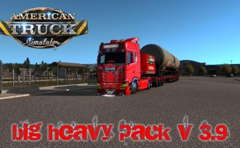 BIG HEAVY PACK V3.9 ATS 1.36