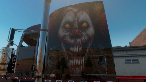 Bloody Clown Skin