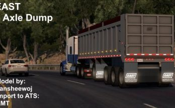 ATS Trailers mods, American truck simulator trailers
