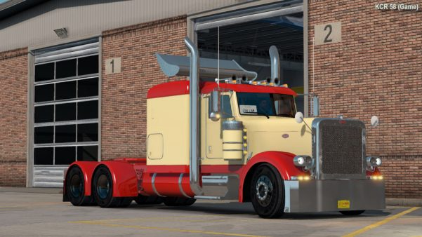 KMB Livery (Old) for SCS Peterbilt 389