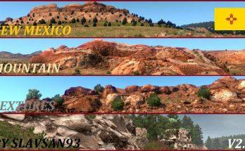 New Mexico Mountain Textures v2.5