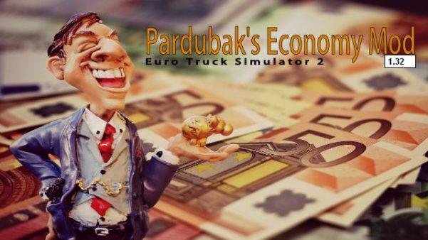Pardubak's Economy Mod ATS v1.32 w41