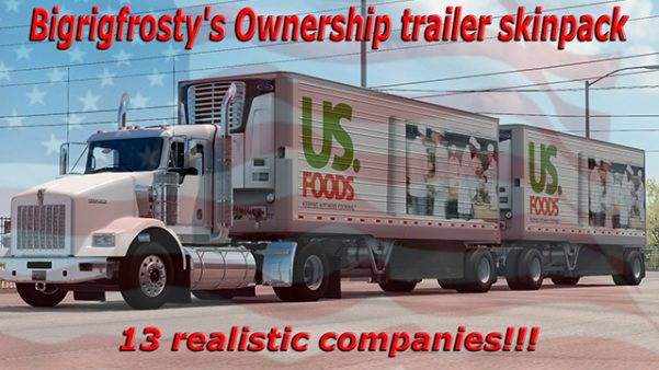 Bigrigfrostys Real Company Trailers Ownership ATS