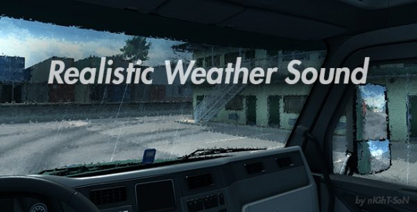 Realistic Weather Sound v 1.7.9
