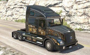 SCS Steam Punk Skin for VNL 670 ATS (Aradeth)