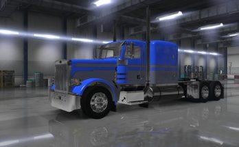 Skin 389 Viper2 Blue & Gray Classic Lines