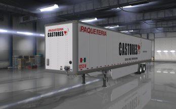 Skin Transportes Castores Owned Trailer 1.32