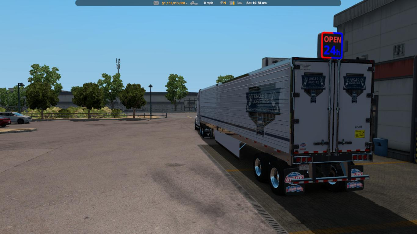 Uncle D Logistics VTC 3000R Utility Trailer Skin v1.33