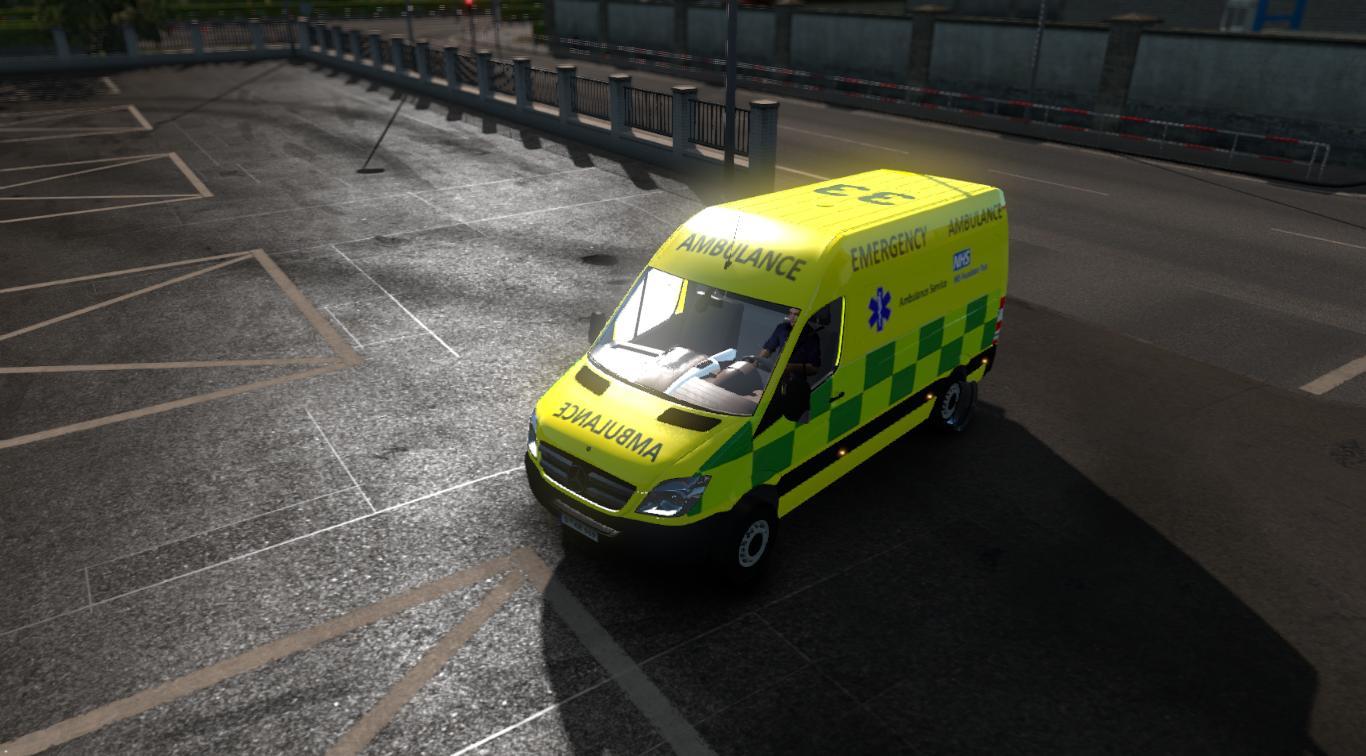 Mercedes Benz Sprinter Uk Ambulance Skin