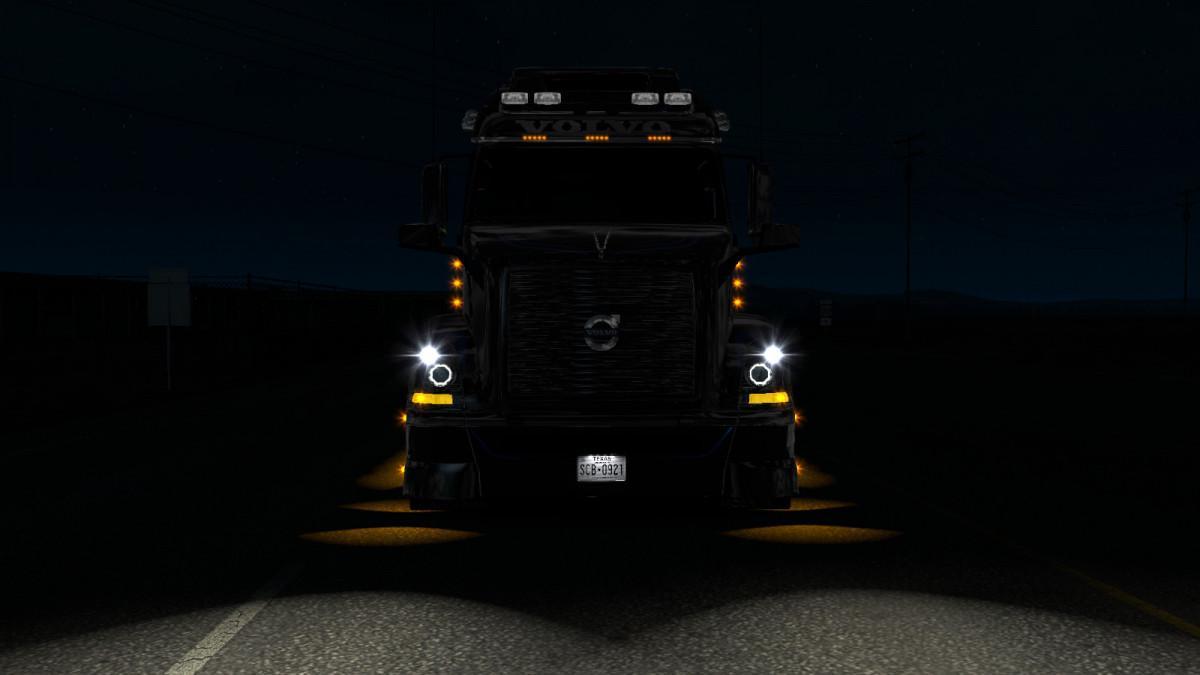 Angel Eyes for Volvo VNL 670 v1.0