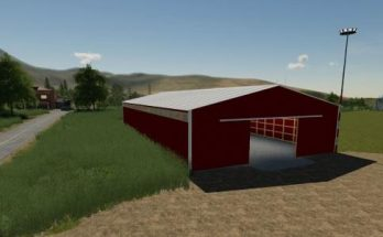 72X150 Red Storage shed prefab v 1.0