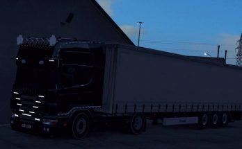 Scania 164L + Krone Trailer 1.32 Fix