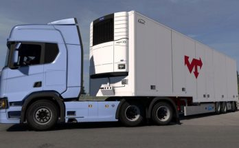 Scania S & R Low Chassis/Air suspension 1.32.x