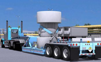 BWS Specialized Nuclear Waste Trailer v 1.0 1.32.x