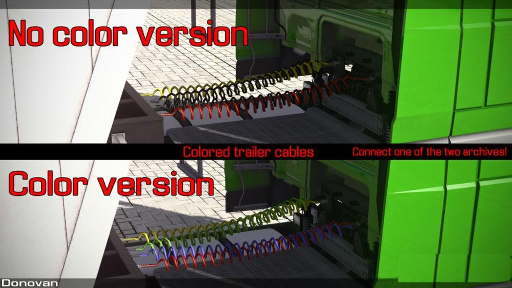 Colors Trailer Cables v1.0