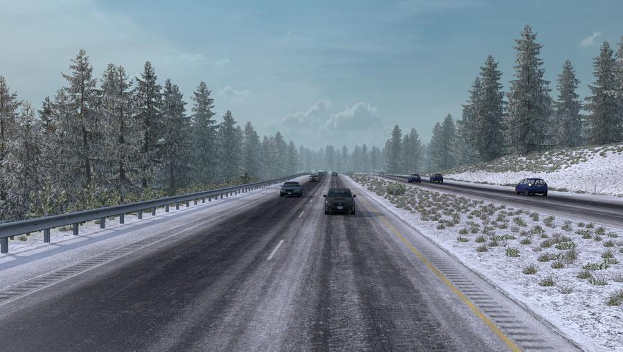 Frosty Winter Weather Mod v 2.4
